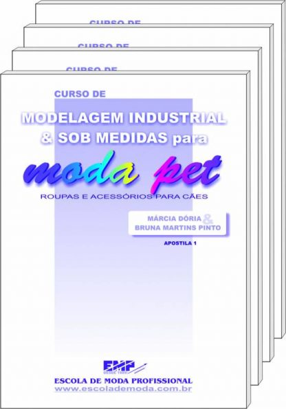 Curso de modelagem para moda pet
