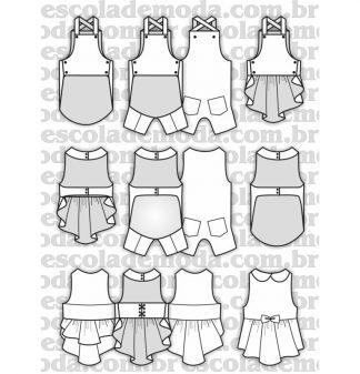 Modelagem de roupas para moda pet