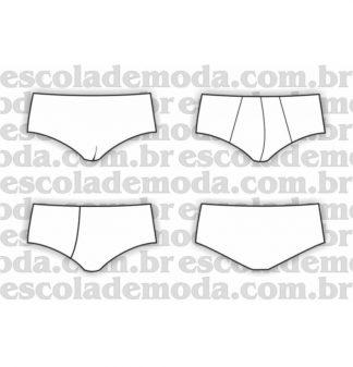 Modelagem de cuecas