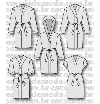 Modelagem de robes infantojuvenis