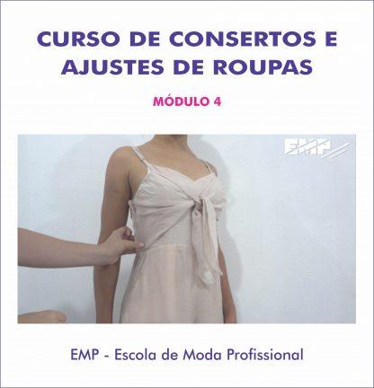 Curso de consertos e ajustes de roupas - módulo 4