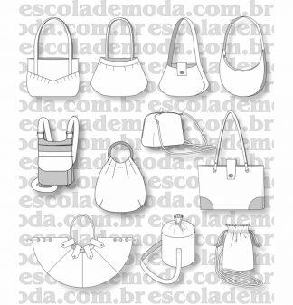 Modelagem de bolsas grandes