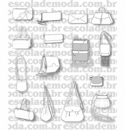 Modelagem de bolsas pequenas